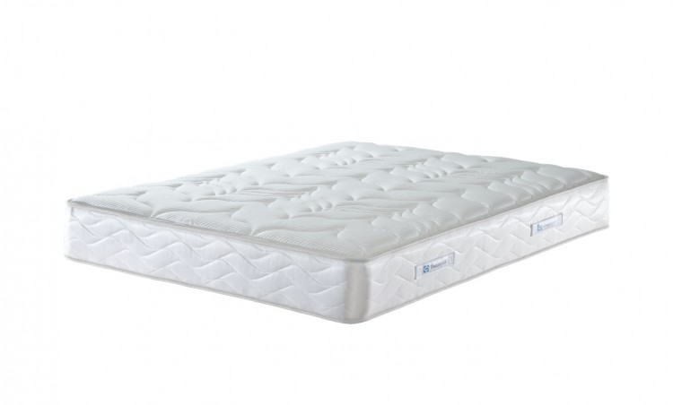 Sealy pearl latex 4ft small double divan bed by sealy for Small double divan with mattress