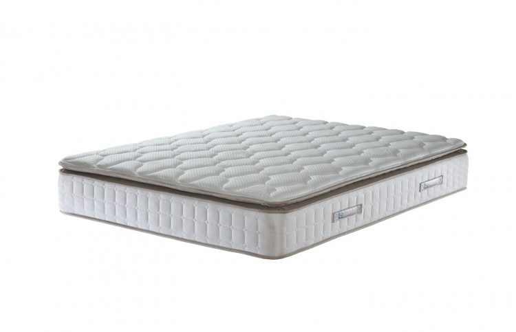 Sealy nostromo 1400 pocket 4ft6 double divan bed by sealy for Double divan bed no mattress