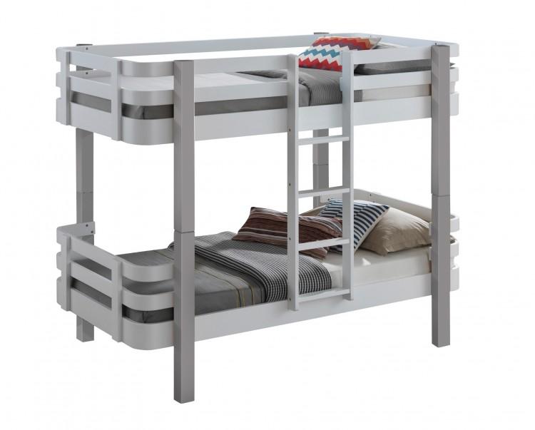 4a796ecb0088 Sweet Dreams Kipling Ruby White Wooden Bunk Bed