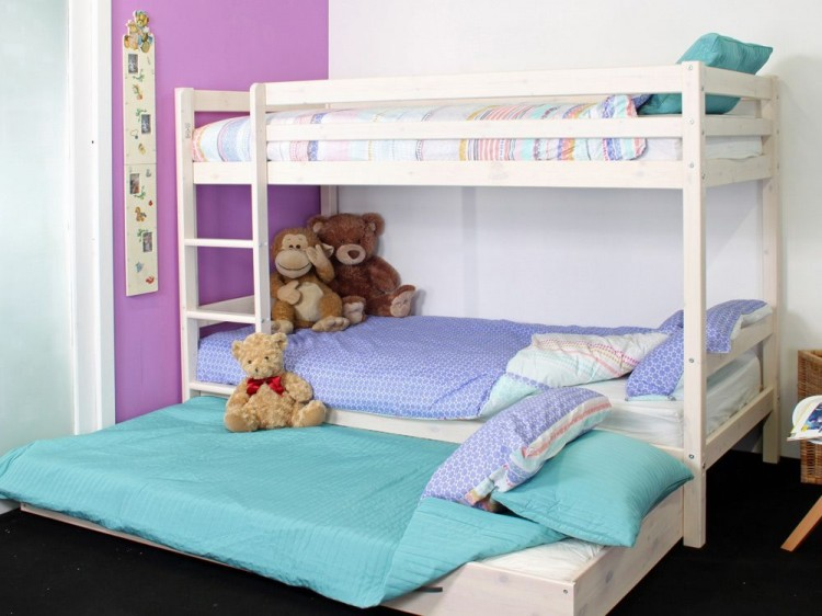 Thuka Hit 5 Childrens Bunk Bed With Trundle Bed By Thuka