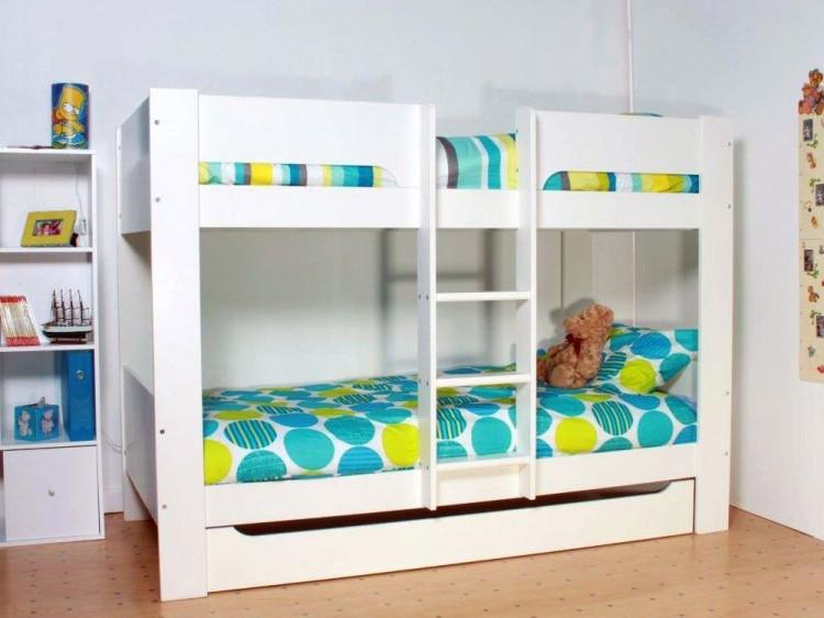 Flexa Heidi White Bunk Bed By Thuka