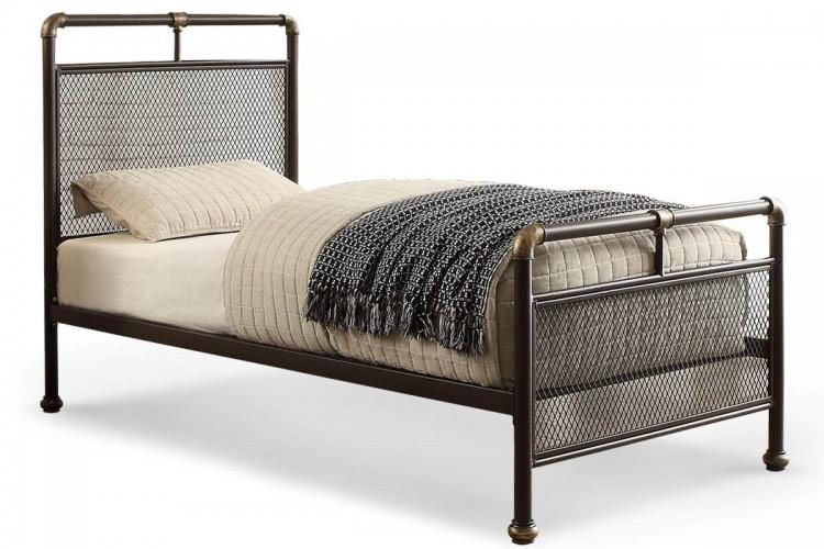 Sleep Design Cambridge 3ft Single Metal Bed Frame by Sleep Design