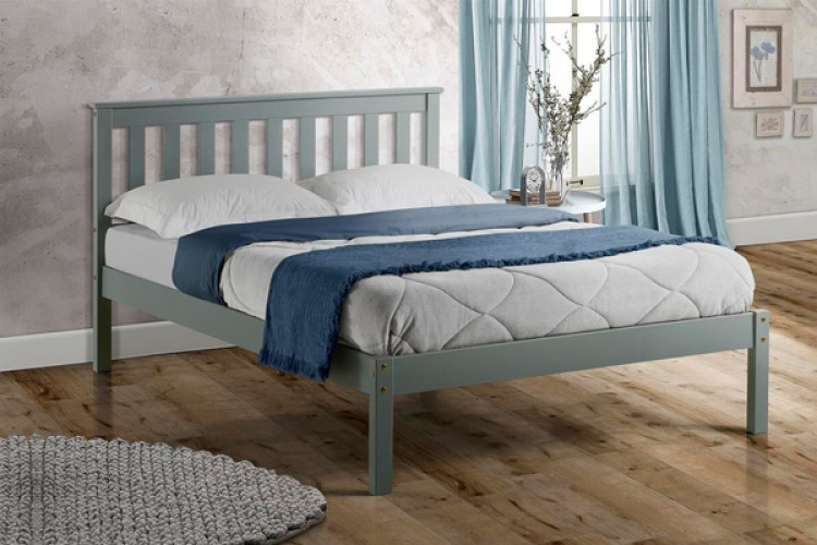 promo code 9e739 b1480 Birlea Denver 4ft Small Double Grey Wooden Bed Frame by Birlea