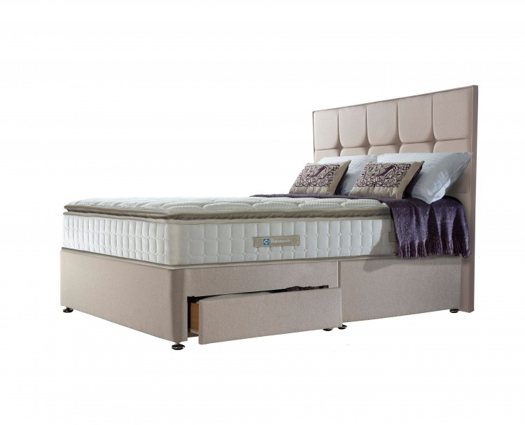 online store 21327 7ccd7 Sealy Nostromo Latex 1400 Pocket 5ft Kingsize Divan Bed by Sealy