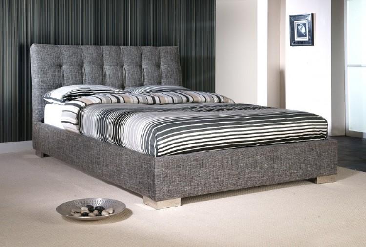 Limelight Ophelia 4ft 6 Double Slate Waffle Fabric Bed Frame