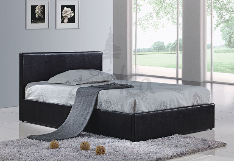 Faux Leather Bed Frame 750 x 517