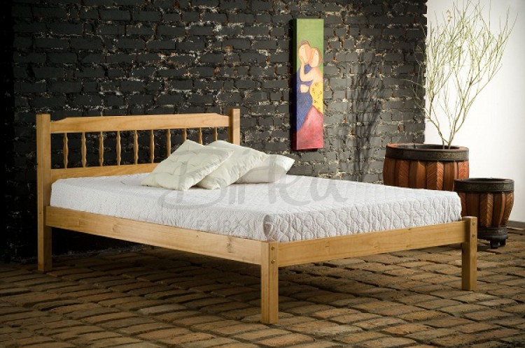 Birlea Santos 4ft Small Double Pine Wooden Bed Frame By