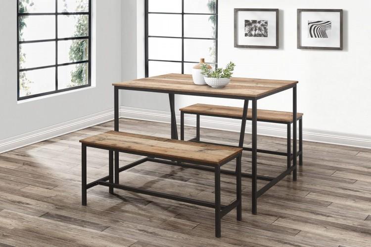 Birlea Urban Rustic Dining Table And, Urban Dining Room Sets