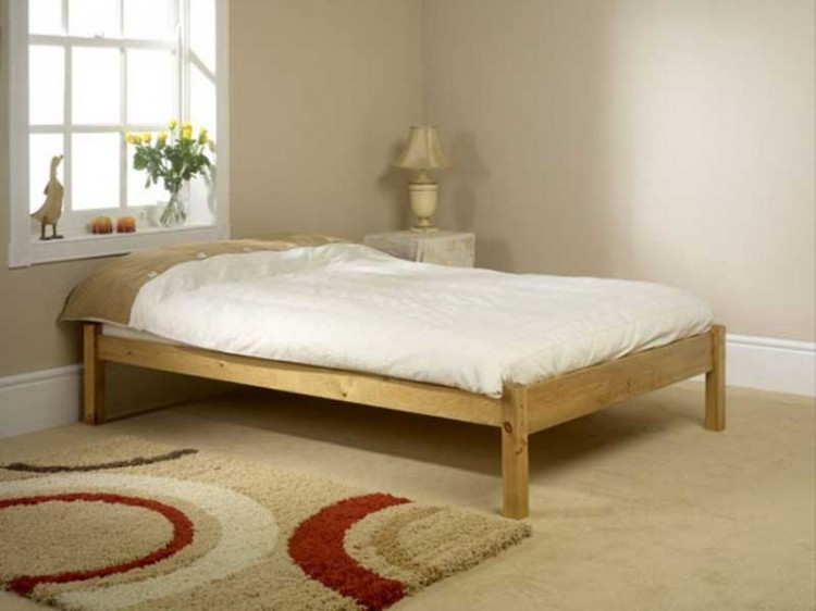 cheap attic bedroom ideas - Friendship Mill Studio Bed 3ft Single Pine Wooden Bed