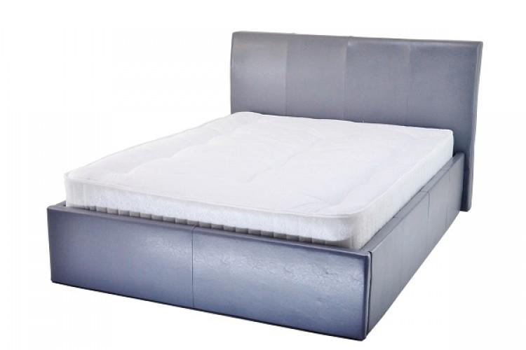 Metal Beds Chameleon 3ft 90cm Single Grey Faux Leather