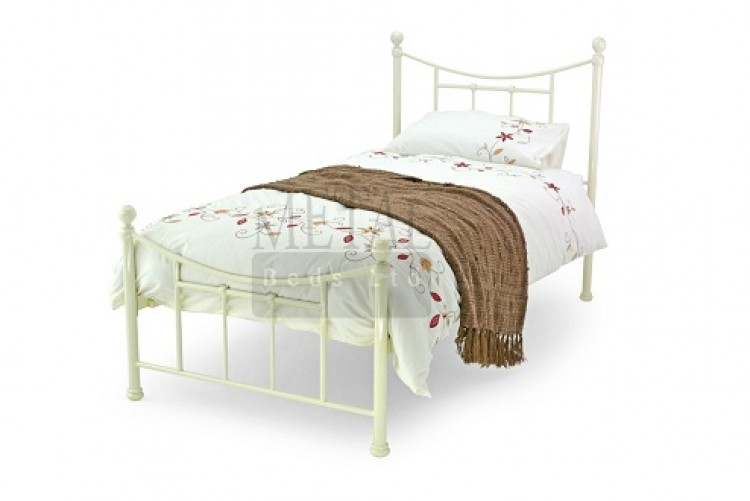 wooden beds bed frames next day select delivery - Single Metal Bed Frame