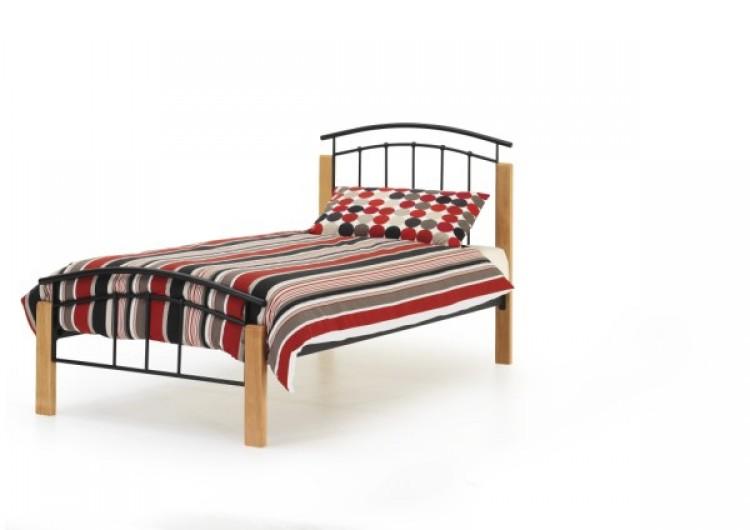 Serene Tetras 3ft Single Black Metal Bed Frame By Serene Furnishings