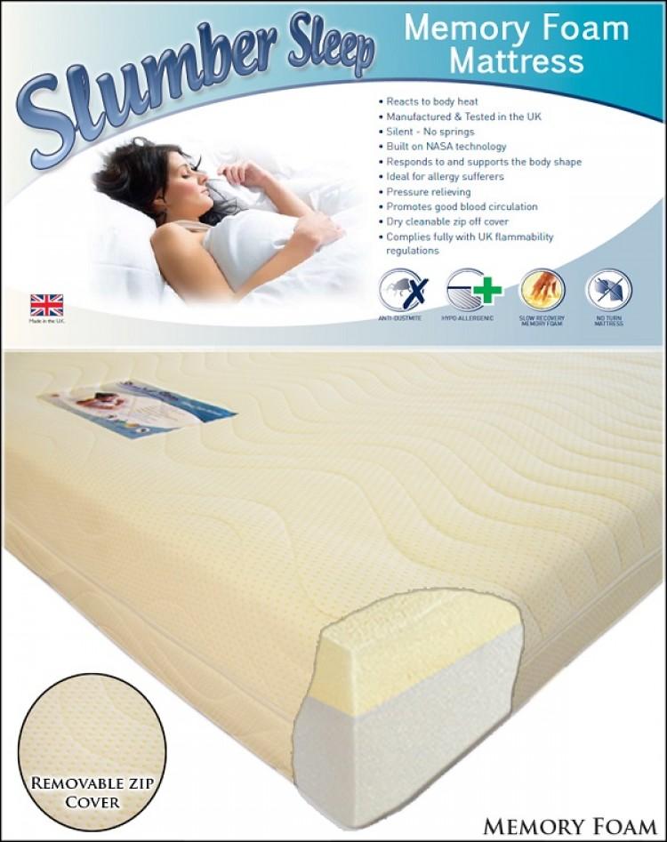 Time Living Slumber Sleep Extreme 50 5ft Kingsize Memory Foam