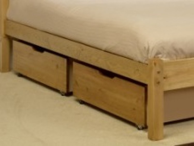 Friendship mill under bed drawers 2 sets of 2 bundle deal by bundles - Wooden beds with drawers underneath ...