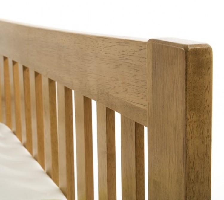 Serene Mya Honey Oak Bed Frame 750 x 669