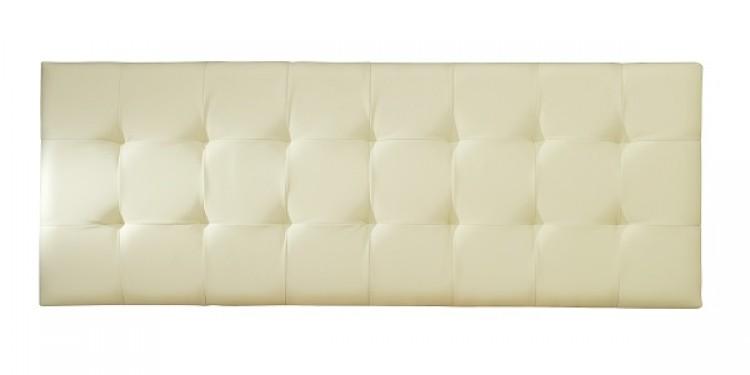 serene romana ft super kingsize cream faux leather headboard by, Headboard designs