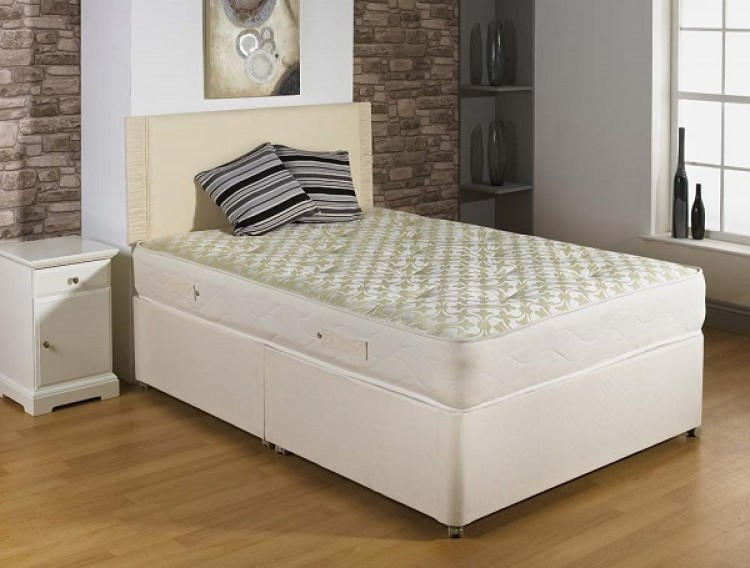 Joseph Ortho Supreme 2ft 6 Small Single Open Coil Divan Bed