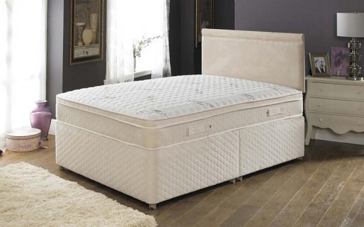 Joseph pillowtalk memory supreme 2000 pocket sprung with for Single divan bed with pocket sprung mattress