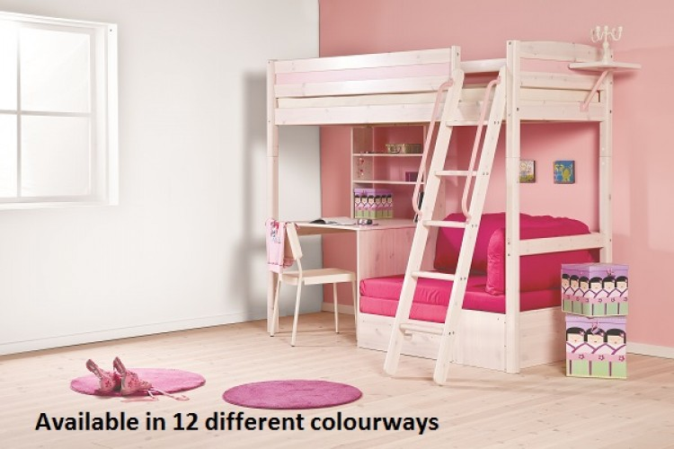 Thuka Trendy 29 High Sleeper Bed Choice Of Colours By Thuka