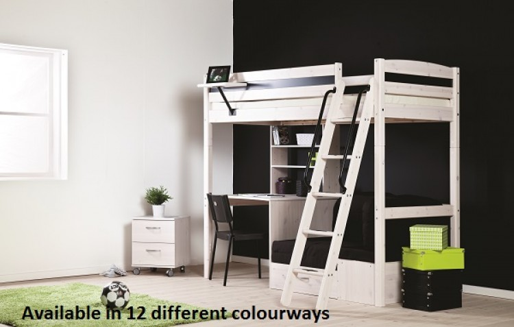 Thuka Trendy 28 High Sleeper Bed Choice Of Colours By