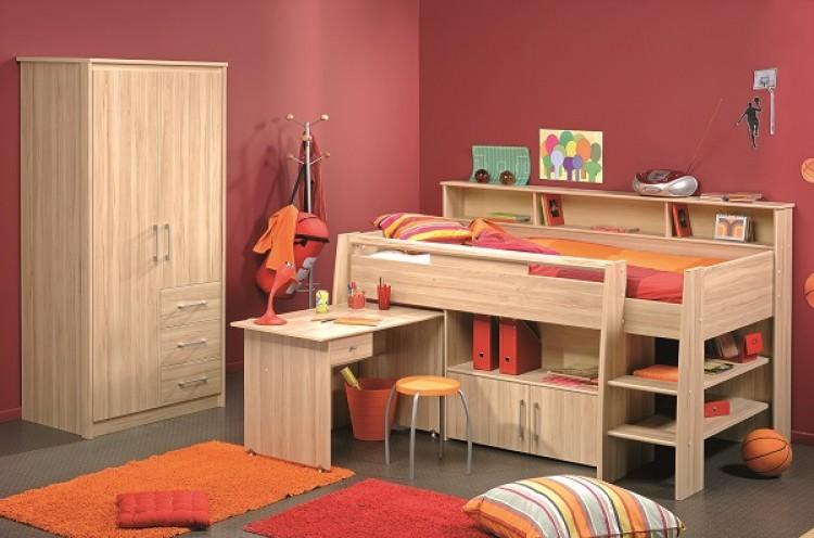 Parisot Thuka Beds Kurt Childrens Mid Sleeper Bed Frame By Parisot - Parisot bedroom furniture