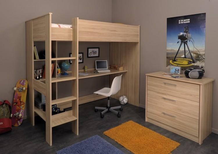 parisot thuka beds kurt 4 childrens high sleeper bed by. Black Bedroom Furniture Sets. Home Design Ideas
