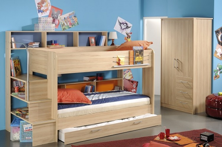 Parisot Thuka Beds Kurt 2 Childrens Bunk Bed Frame By Parisot