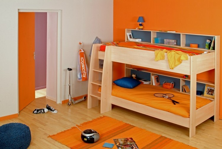 Parisot Thuka Beds Tam Tam 1 Childrens Bunk Bed Frame By Parisot