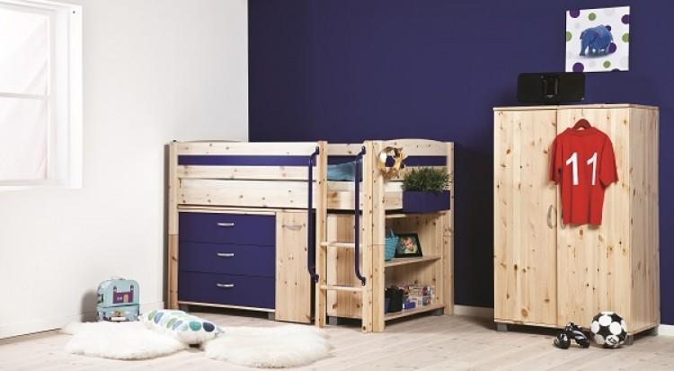 Thuka Trendy 2 Shorty Midsleeper Bed (Choice Of Colours) by Thuka