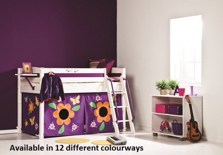 Thuka Trendy 3 Shorty Midsleeper Bed Choice Of Colours By