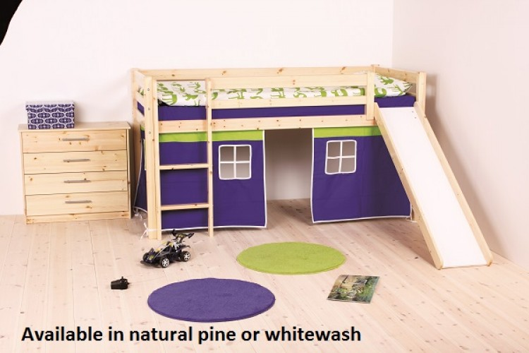 Thuka Hit 9 Childrens Mid Sleeper Bed Frame Available In