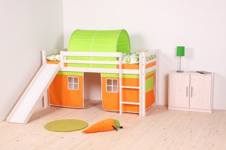 2f220f09654c Thuka Hit 22 Childrens Mid Sleeper Bed Frame Available in Natural or  Whitewash by Thuka