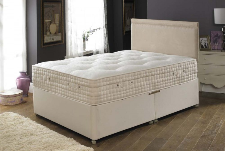 Joseph hallmark 8000 pocket sprung bed 3ft single divan for 3 foot divan bed