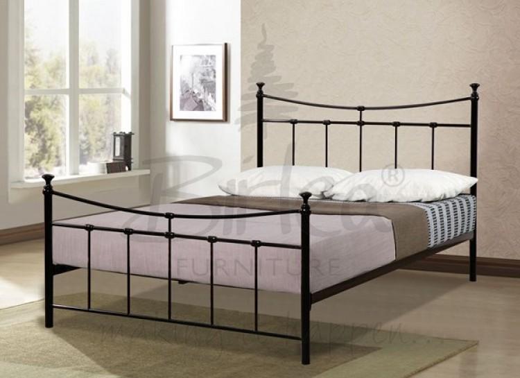Birlea Emily 4ft Small Double Black Metal Bed Frame By Birlea