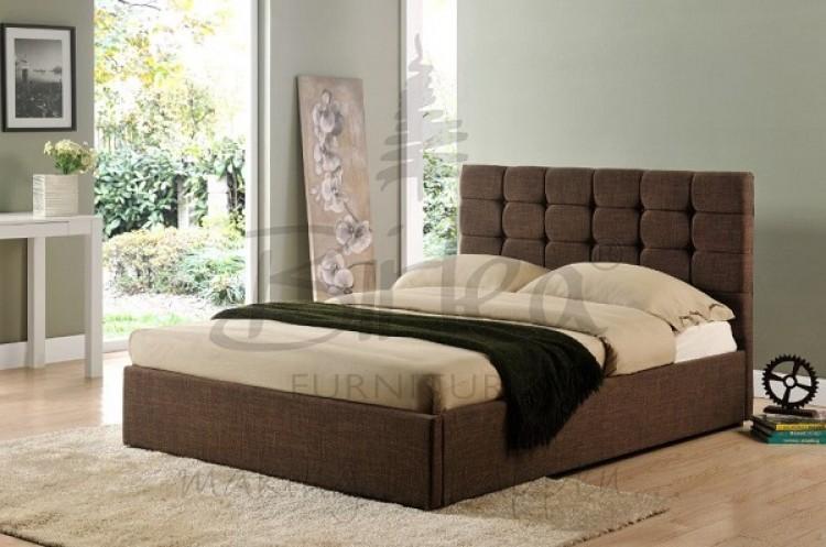 Birlea Isabella 6ft Super King Size Brown Upholstered