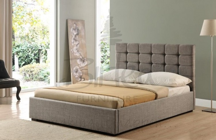 Birlea Isabella 6ft Super King Size Grey Upholstered