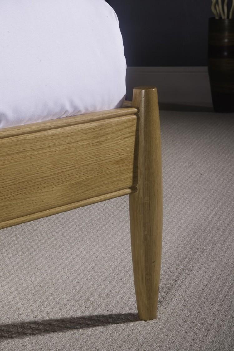 limelight aquarius 4ft 6 double oak bed frame by limelight. Black Bedroom Furniture Sets. Home Design Ideas