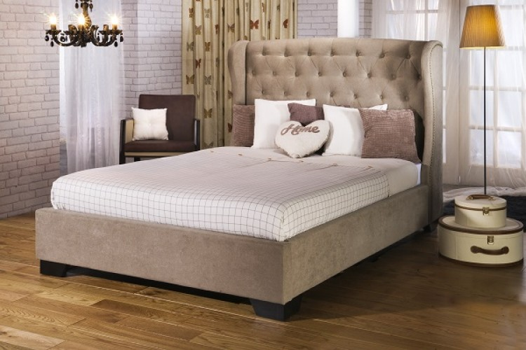 Limelight Capella 5ft Kingsize Fabric Upholstered Bed Frame By Beds