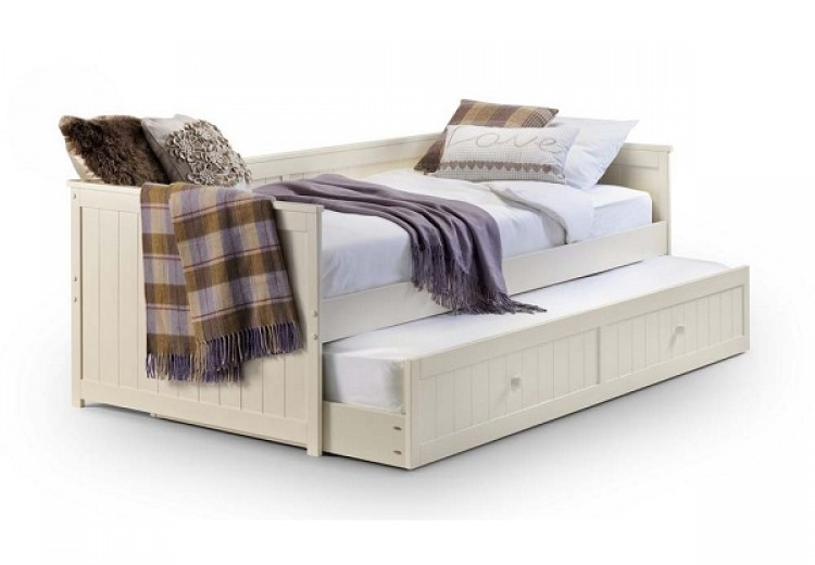 Julian Bowen Jessica Stone White Wooden Day Bed With