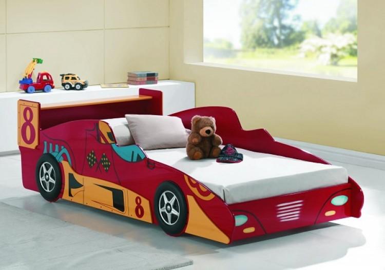 Joseph Turbo Racer Red 3ft Single Car Bed Frame