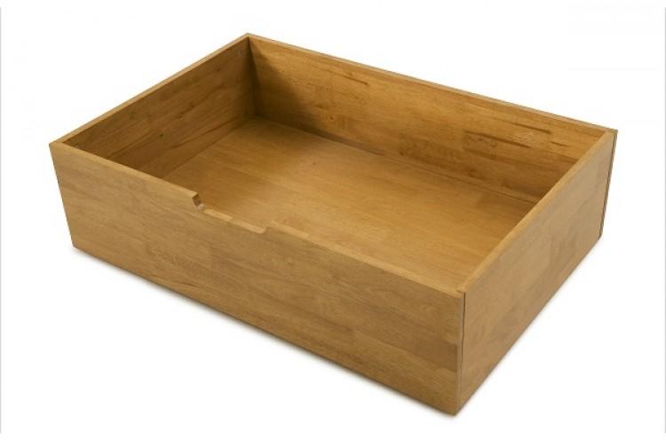 under bed oak drawers 3