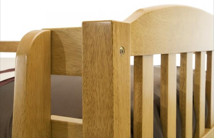 Oak Wooden Bunk Bed Show More Information