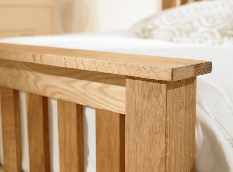 Emporia Richmond 5ft Kingsize Solid Oak Bed Frame By Emporia Beds