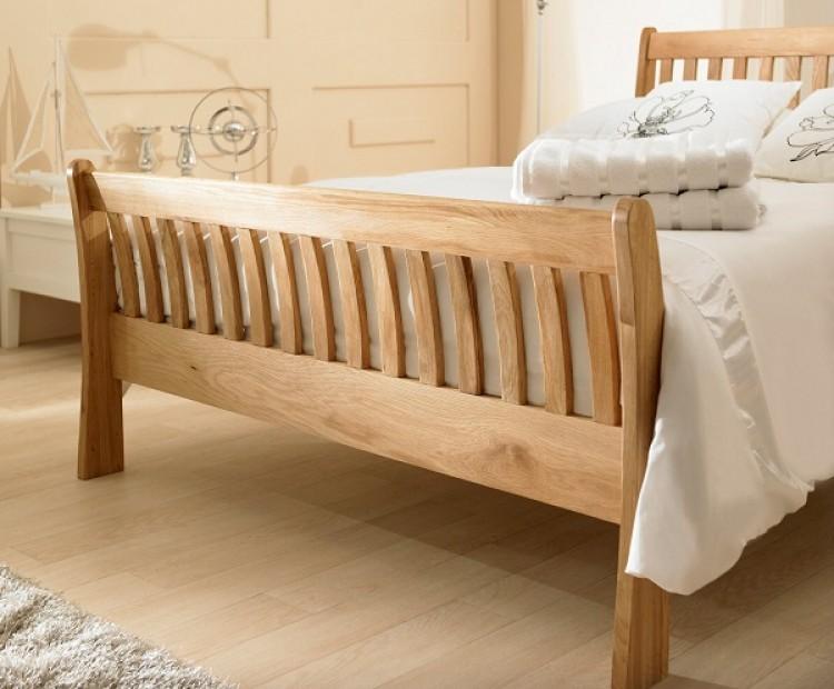 Emporia Windsor 6ft Super Kingsize Solid Oak Bed Frame by  : 5316 emporia windsor 4ft6 double solid oak bed frame from www.ukbedstore.com size 750 x 620 jpeg 86kB