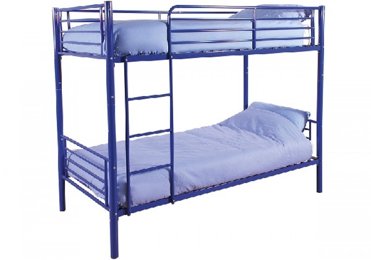 Gfw Florida Blue Metal Bunk Bed By Gfw