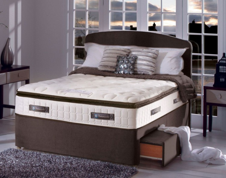 Sealy Sophia 1400 Pocket Gold 4ft6 Double Divan Bed By Sealy