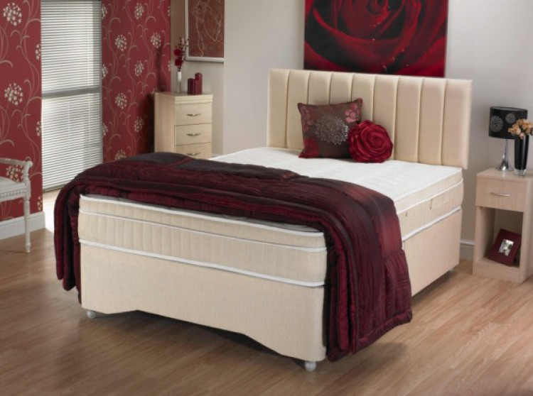 La Romantica Violet 4ft Small Double Divan Bed By La Romantica