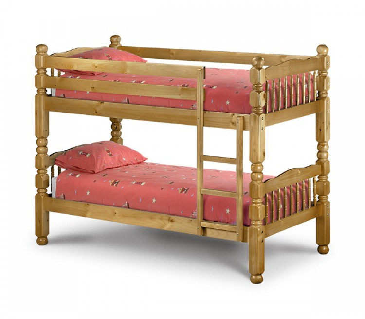 julian bowen chunky pine 3ft childrens bunk bed by julian. Black Bedroom Furniture Sets. Home Design Ideas