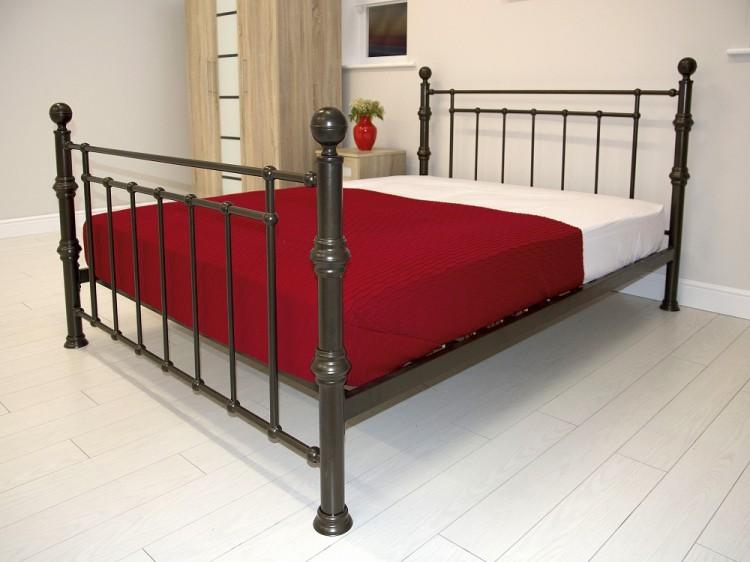 gfw kensington 5ft kingsize antique copper metal bed frame by gfw