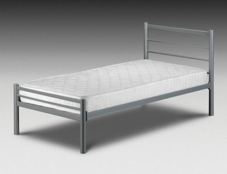 Julian Bowen Alpen 3ft Single Metal Bed Frame by Julian Bowen